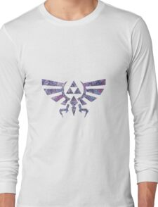 Abstract The Legend of Zelda Triforce Silhouette Long Sleeve T-Shirt