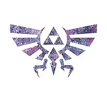 Abstract The Legend of Zelda Triforce Silhouette by HerkDesigns