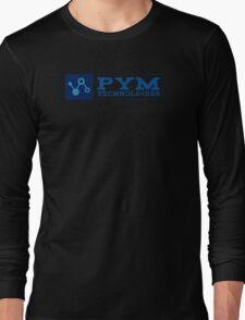 Ant-Man - Pym Technologies - Blue Clean Long Sleeve T-Shirt