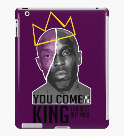 Omar Little - The Wire iPad Case/Skin