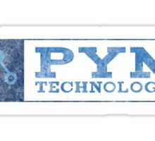 Ant-Man - Pym Technologies - Blue Dirty Sticker