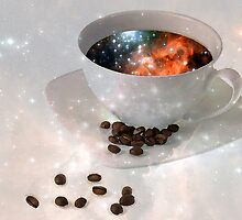 Nectar From Heaven - Coffee Art By Sharon Cummings by Sharon Cummings