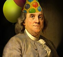 Birthday Ben Franklin by Gravityx9