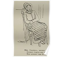 Kate Greenaway Collection 1905 0078 Mrs Chappell Dressed for Sunday Poster