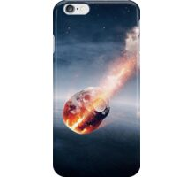 Meteorites on their way to earth iPhone Case/Skin