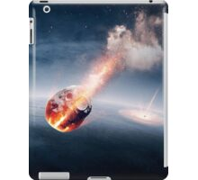 Meteorites on their way to earth iPad Case/Skin