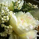 White Artificial flowers by EdsMum