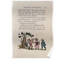 The Queen of Pirate Isle Bret Harte, Edmund Evans, Kate Greenaway 1886 0033 Slide Down Poster