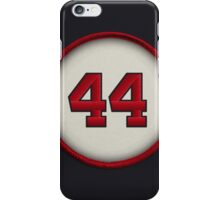 44 - Hammerin Hank iPhone Case/Skin