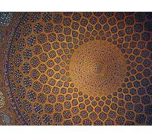 Sheikh Lotf Allah Mosque, Esfahan, Iran Photographic Print
