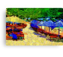 Summer in the Caribbean Canvas Print