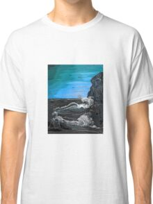 'Raging sea - Old man of the Rocks' Classic T-Shirt