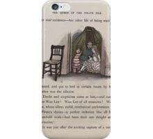 The Queen of Pirate Isle Bret Harte, Edmund Evans, Kate Greenaway 1886 0019 Hiding iPhone Case/Skin