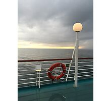 On The High Seas Photographic Print