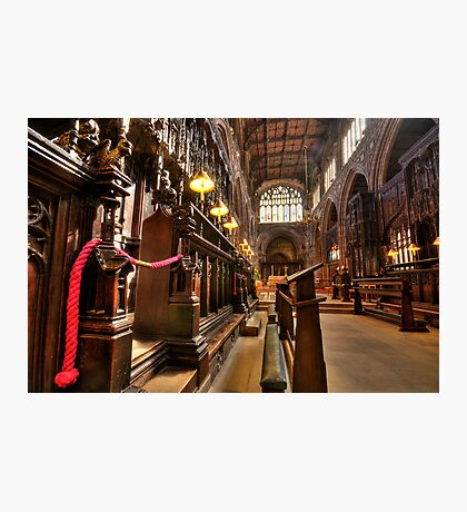 Manchester Cathedral Photographic Print