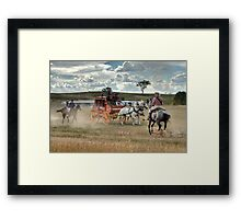 The Battle of Jugiong Framed Print
