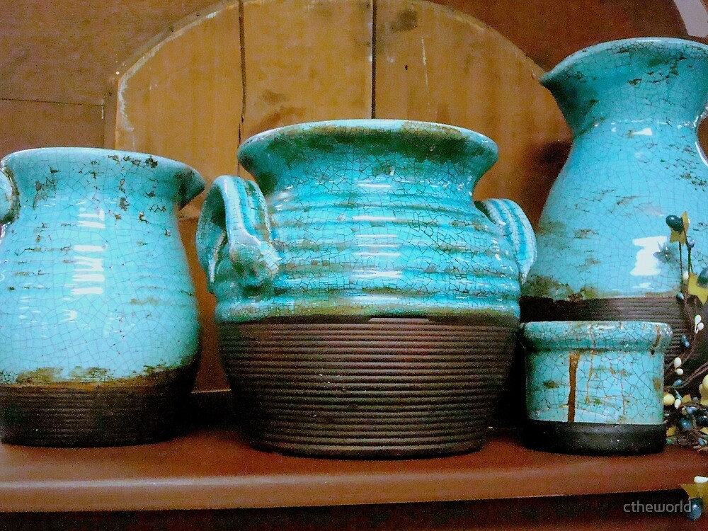 Pueblo Blue Pottery ^ by ctheworld