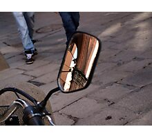 Street Reflections Photographic Print