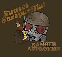Ranger Approved!! (Sunset Sarsparilla Ver) Photographic Print