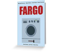 Fargo - television series print Greeting Card