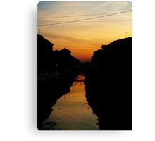Milanese Sunset Canvas Print