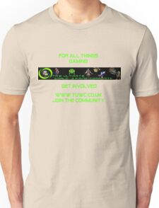The Ultimate World-gaming Community Unisex T-Shirt