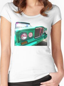 Classic Jeep J3000 4 Wheel Drive by Sharon Cummings Women's Fitted Scoop T-Shirt