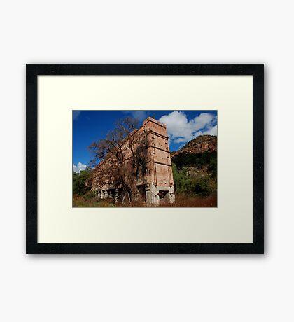 Glen Davis Shale Works Framed Print