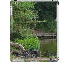 Mysterious Fisherman iPad Case/Skin