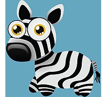 Pretty little zebra Photographic Print