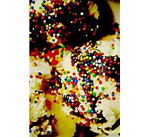 Sprinkles on my ice cream Photographic Print