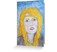 Freyja Greeting Card
