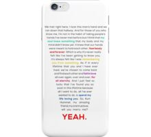 Klaine Proposal iPhone Case/Skin