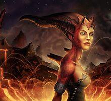 Magma Devil by Michael Jaecks