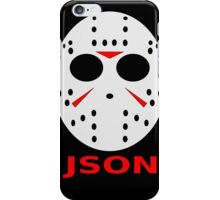JSON iPhone Case/Skin