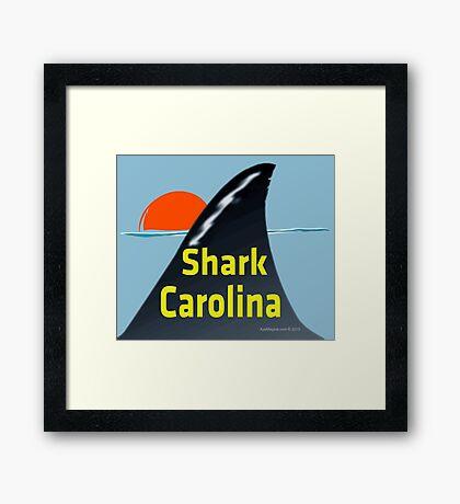 Shark Carolina Framed Print