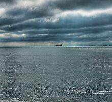 Silver water by Gouzelka