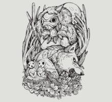 Mononoke Inks by WOLFSKULLJACK