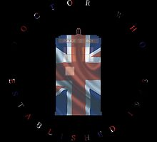 The Doctor Union Flag by dragonsbane77