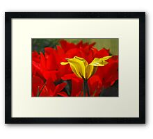 spring capers Framed Print