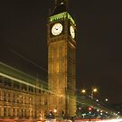 London and Big Ben by Night by oliver9523