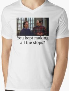 All the stops Mens V-Neck T-Shirt
