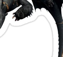 Toothless and Hiccup Sticker