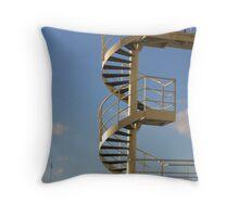 London Eye Stairway Throw Pillow