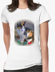 My Sweet Little Friend Womens Fitted T-Shirt