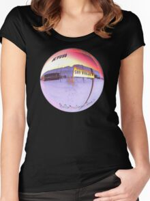Kyuss ~ Welcome To The Circus Leaving Town Original Women's Fitted Scoop T-Shirt