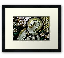 The Annunciation to the Blessed Virgin Mary Framed Print