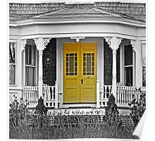 The Yellow Door... Poster