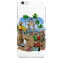 Parrot Beach Party iPhone Case/Skin