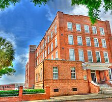 "Bering Cigar factory  ""Corral & Woodiska"" Ybor City, Tampa by Robert Azmitia"